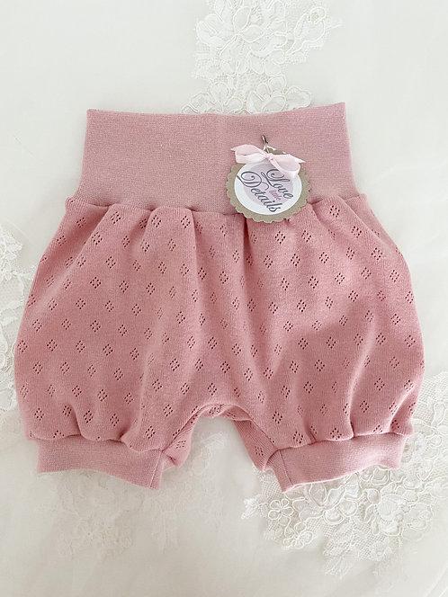 Pant short 56/62 Rosa