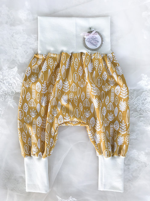 Pant Size 68/74 (6-12 m) Golden Leaves
