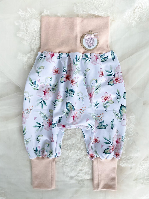 Pant Size 80/86 (12-24 m) Hawaiian Flowers