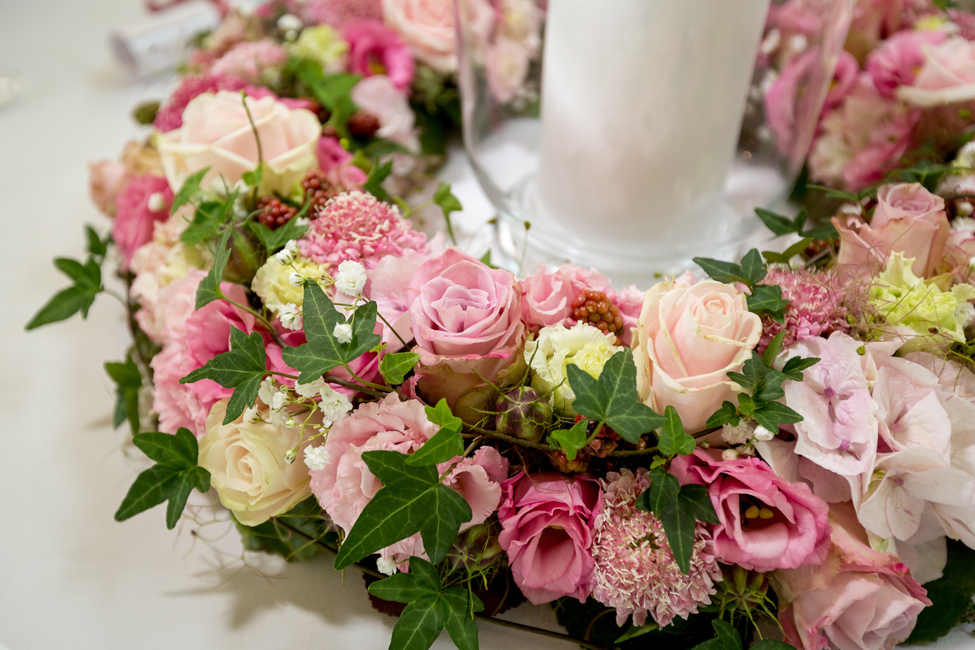 Hochzeit wedding flowers-Sabrina-David-7
