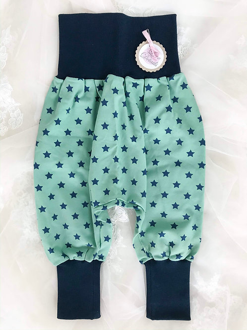 Pant Size 80/86 (12-24 m) Green Stars