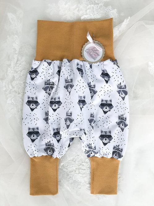 Pant Size 56/62 (2-6 m) Golden Raccoons
