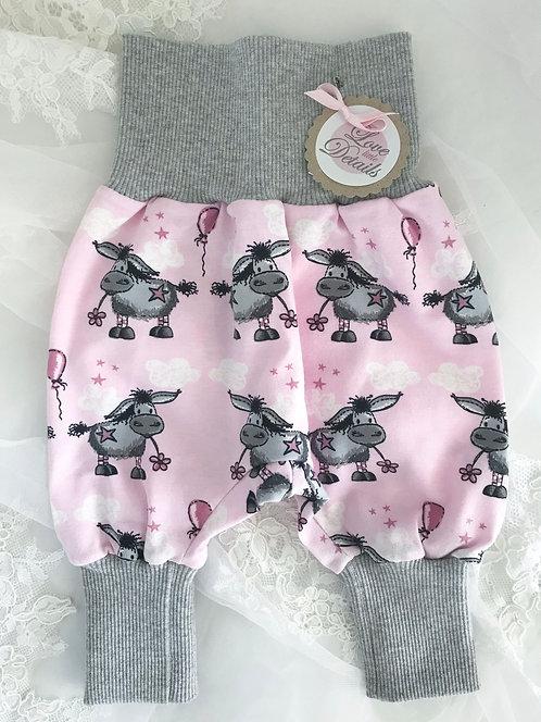 Pant Size 50 (Newborn) Donkey Pink Gray