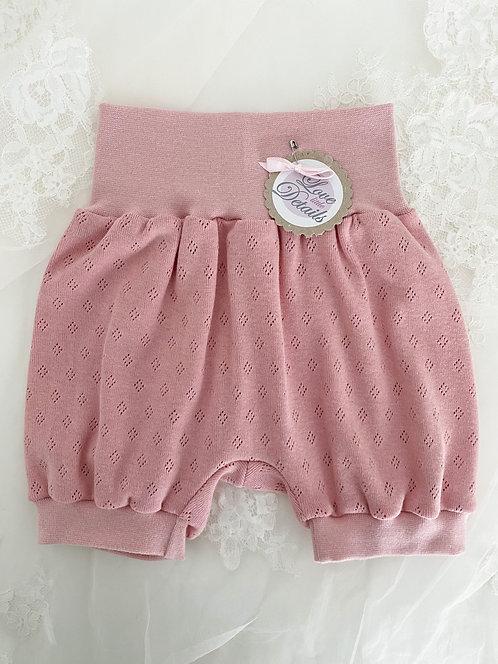 Pant short 80/92 Rosa