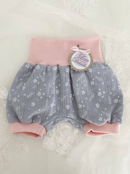 Pant short 56/62 Sweet Flowers