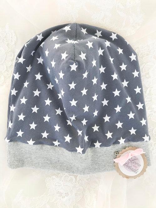 Wendebeanie Gr. 5 (KU 49-51 cm) Stars/Stripes