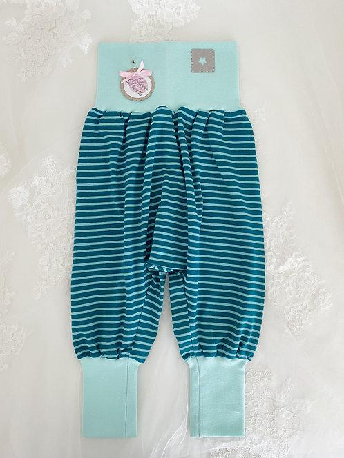 Pant Size 92/98 (2-4 yr) Green Stripe