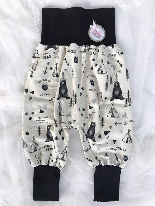 Pant Size 92/98 (2-4 yr) Black Bear