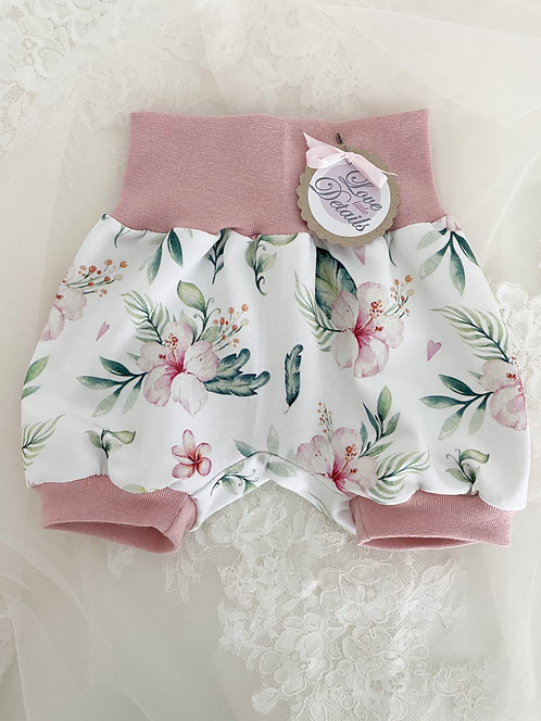 Pant short 56/62 Hawaiian Flowers