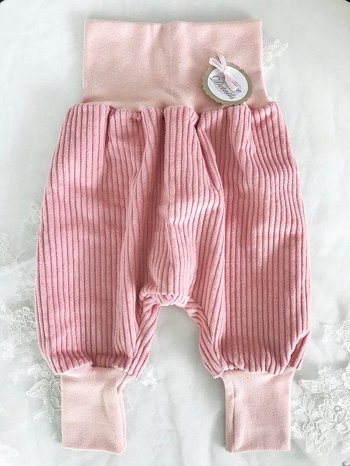 Pant Size 68/74 (6-12 m) Pink Stripes