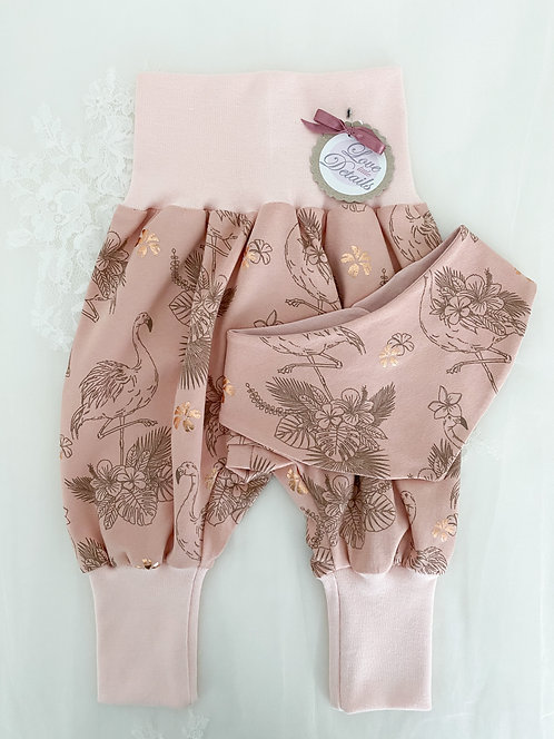 Newborn Set 56/62 (2-6 m) Flamingo