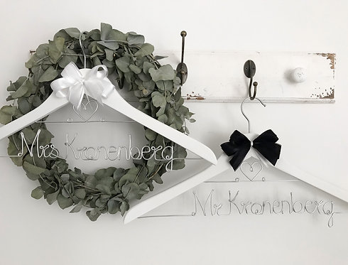 Mr & Mrs Hanger Set