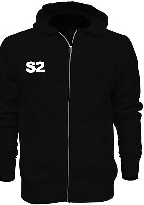 S2 Limited Edition Zip Up Hoodie(Black)
