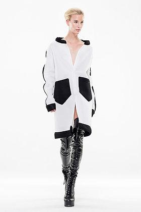S2 White Oversize Jacket