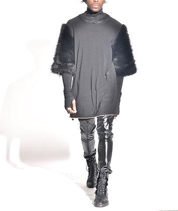 F/W Pre-Black Society Fur Tee Pullover (Unisex)