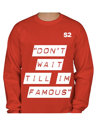DNT Oversize Blackout Long sleeve (Red)