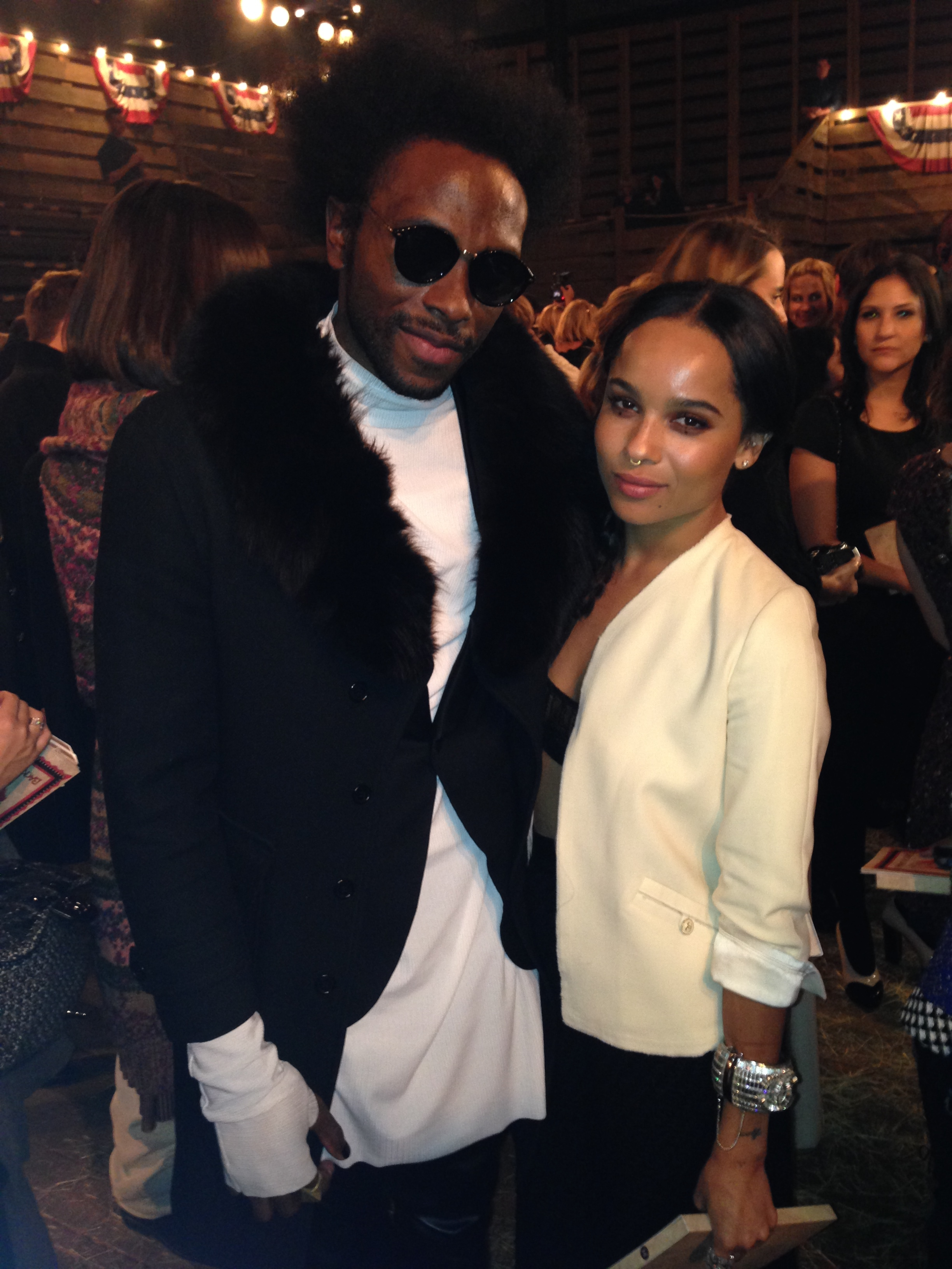 Charles Smith II W/ Zoe Kravitz