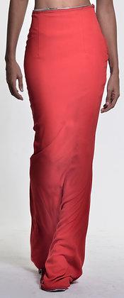 Crepe Floor Length Skirt