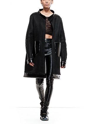 S2 Black Oversize Jacket