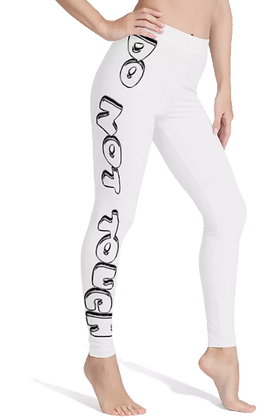 DNT Chrome Leggings [WHITE]