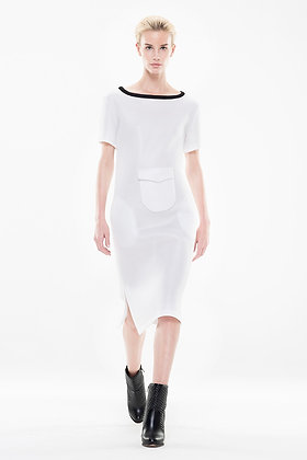 Simple White Dress Air Waffle
