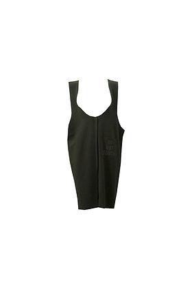 DNT TANK BLACK DRESS W/ DENIM POCKET TEE- (S200046