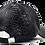"Thumbnail: S2 ""NDA"" SNAKESKIN EMBROIDERED  DAD CAP [BLACK]"