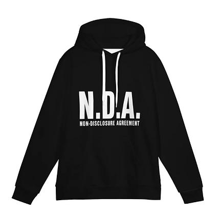 """S2 """"NDA"""" PULLOVER HOODIE[BLACK]"""