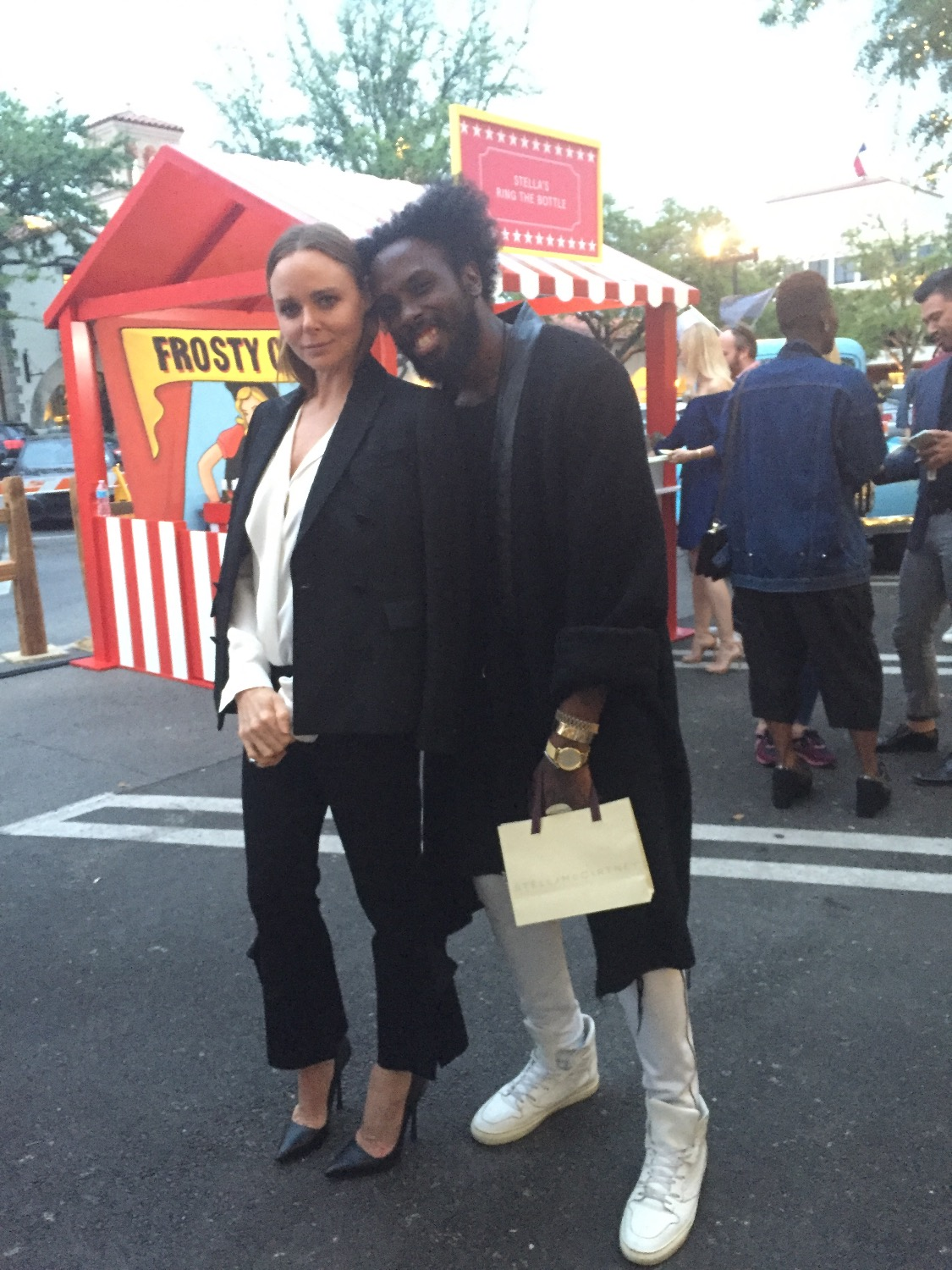 Charles Smith II W/ Stella McCartney