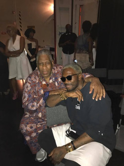 w/ Andre Leon Talley