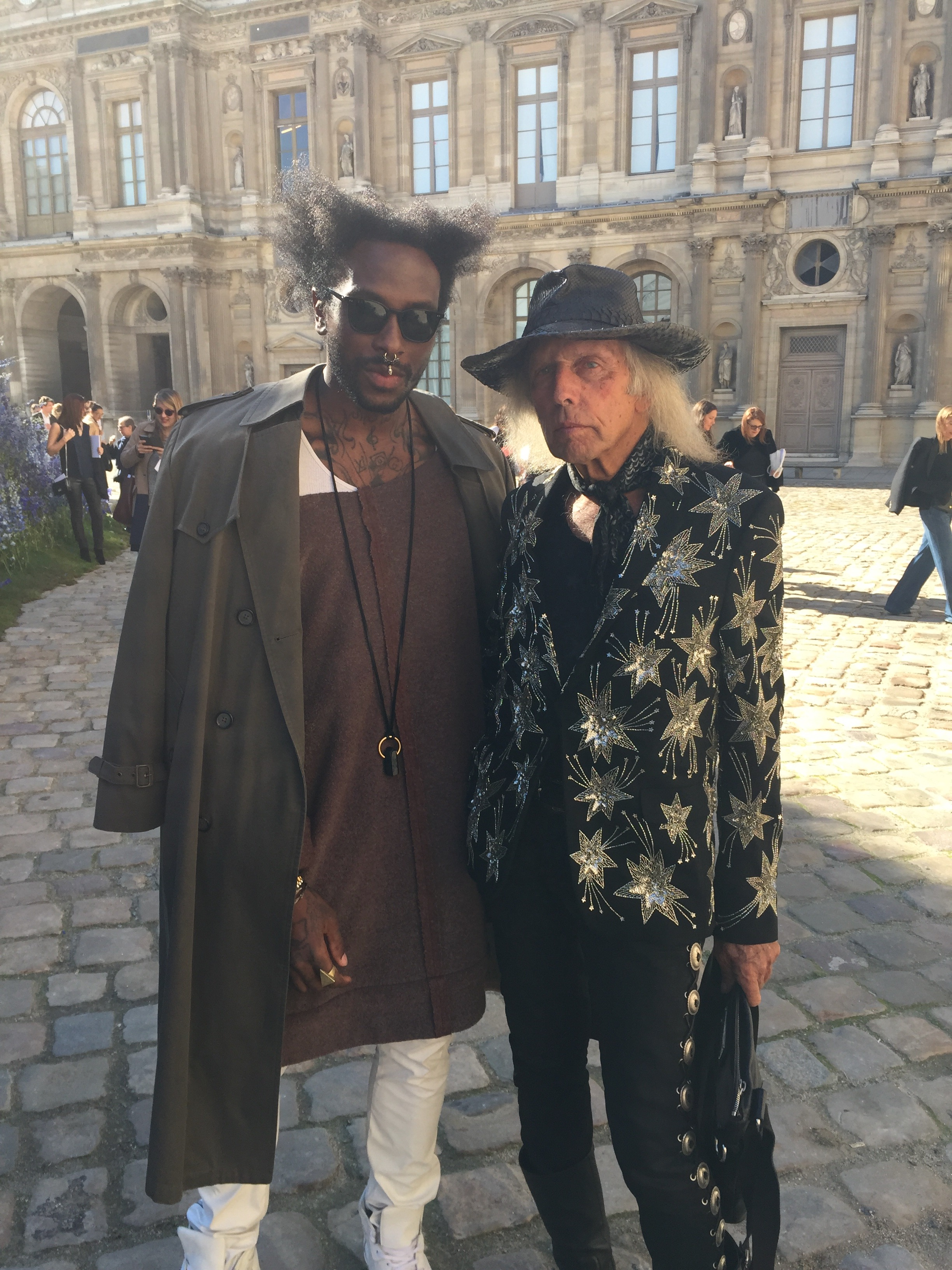 W/ James Goldstein at Dior SS16 PFW