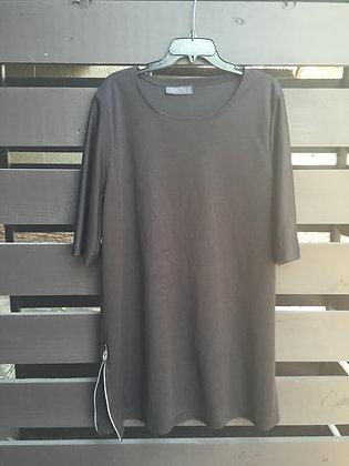 Basic Jersey Knit T-Shirt