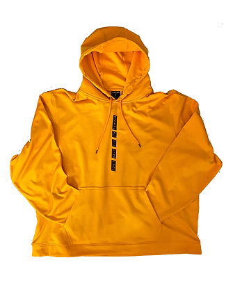 DNT Oversize Blackout Pullover Hoodie (Yellow)
