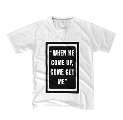 """S2 """"COME UP"""" T-SHIRT"""