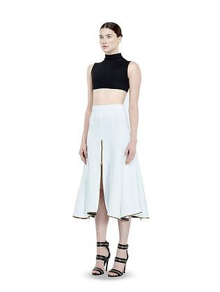 Neo Swirl Anna Skirt-White