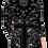 Thumbnail: Bandanna Long-sleeve Mini Dress
