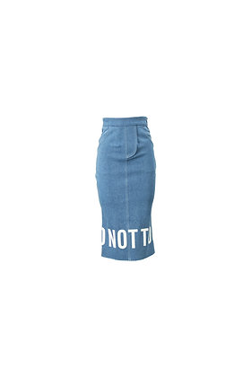 DNT BLUE DENIM SKIRT- (S200034)