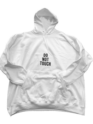 S2 Do Not Touch Pullover Hoodie (White)
