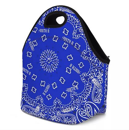 SMITH II Bandanna Carry/Lunch Bag [BLUE]