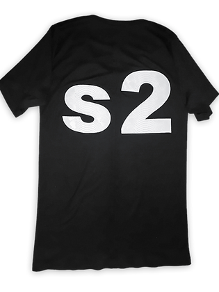 DISD S2.0 Benefit BLK Xposed Seam T-Shirt