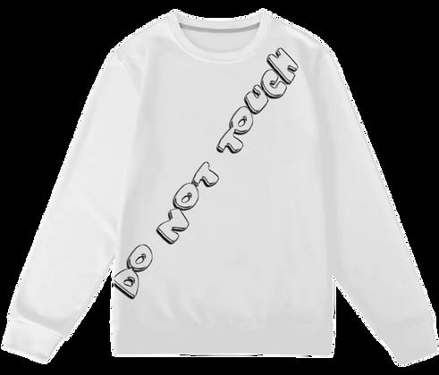DNT Chrome Sweatshirt [WHITE]