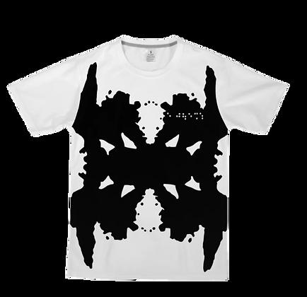 SS21 Smith II x Rorschach Inkblot  T-Shirt [WHITE]
