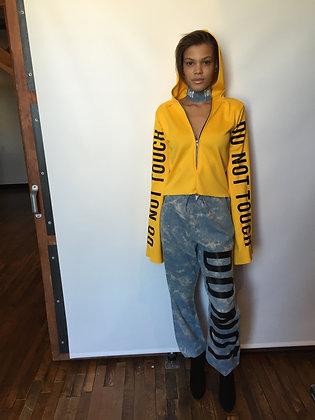 S2 DNT Yellow Hoodie (S200001)