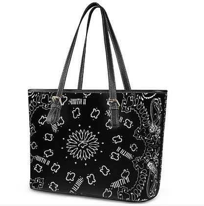 SMITH II Bandanna Leather Tote Bag