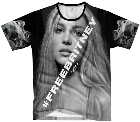 #FREEBRITNEY DONATION T-SHIRT [BLACK]