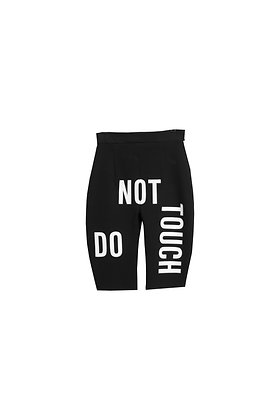 DNT BLACK BIKER SHORTS- (S200051)