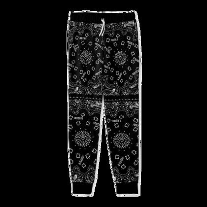 Bandanna Joggers[BLACK]