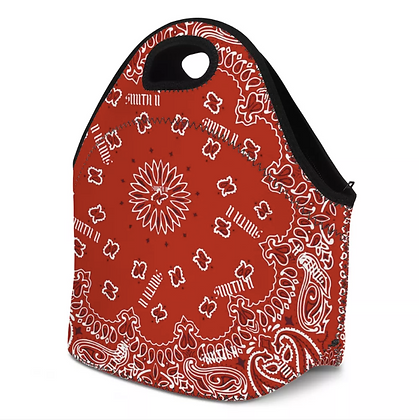 SMITH II Bandanna Carry/Lunch Bag [RED]