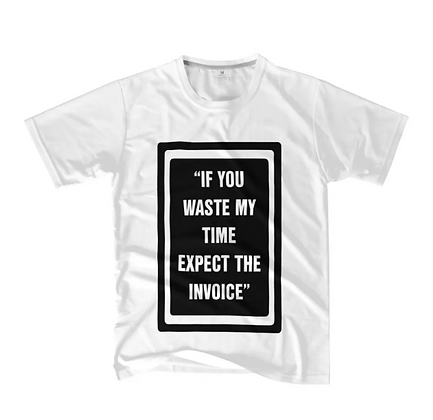 "S2 ""WASTED & INVOICE"" T-SHIRT"
