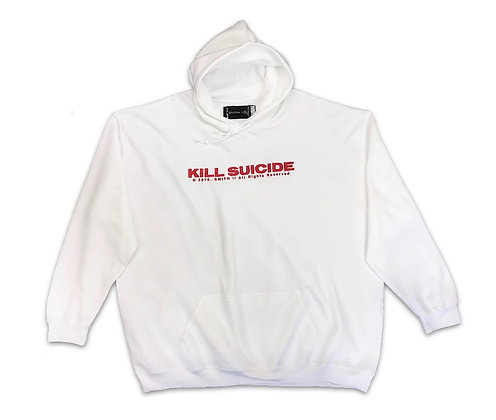 "SS19 Embroidered ""KILL SUICIDE"" Collections Hoodie"